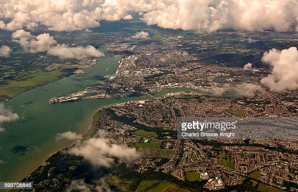 cityscapes - southampton england stock pictures, royalty-free photos & images