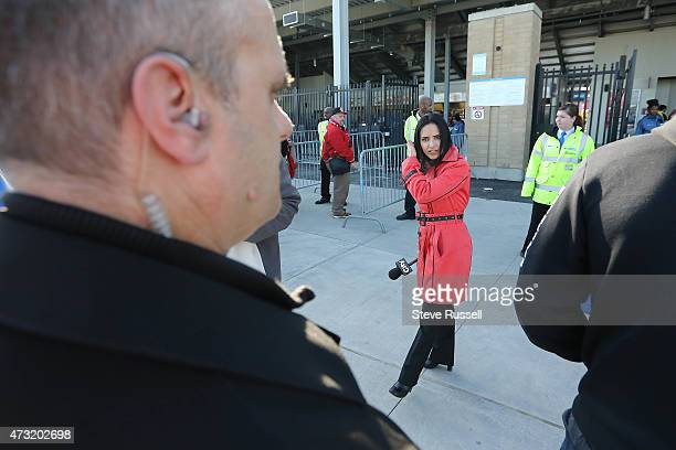TORONTO ON MAY 13 CityTV's Anna Vlachos reports from BMO Field with security nearby Maple Leafs Sports and Entertainment provides additional security...