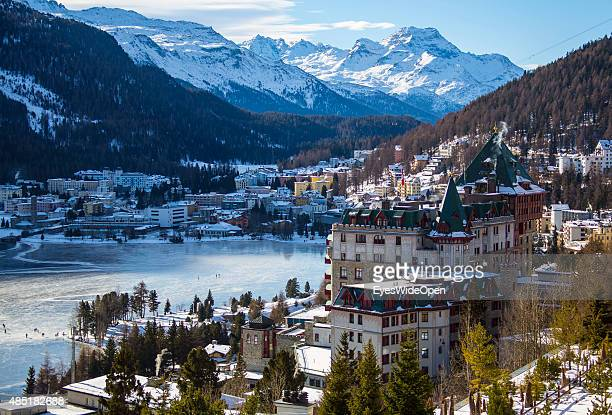 st moritz stock photos and pictures getty images