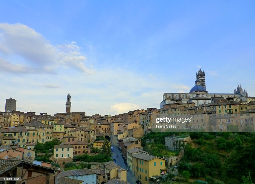 Cityview of Siena, Italy : Stockfoto