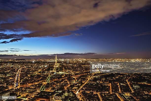 cityview paris - achim thomae stock-fotos und bilder