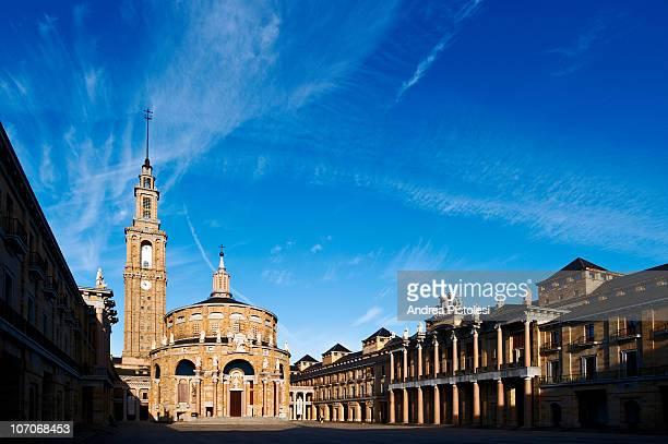 Ciudad de la Cultura in Gijon, Spain