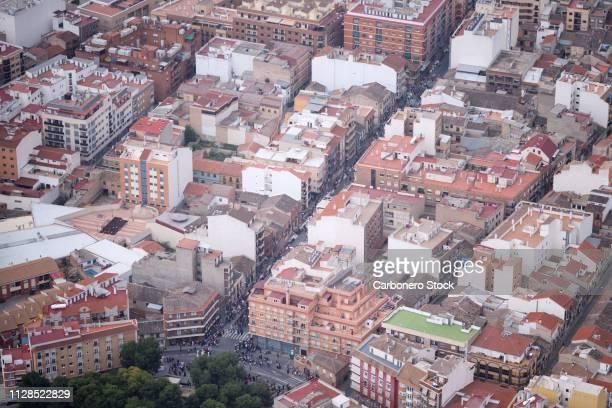 Ciudad española en fiestas