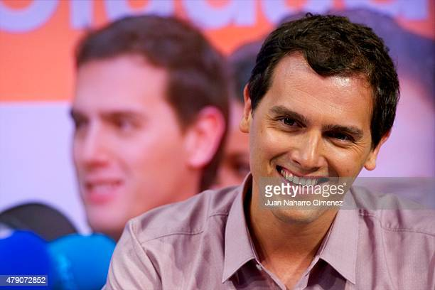 Ciudadanos political party's leader Albert Rivera attends 'El Hormiguero' Tv show at Vertice Studio on June 30 2015 in Madrid Spain
