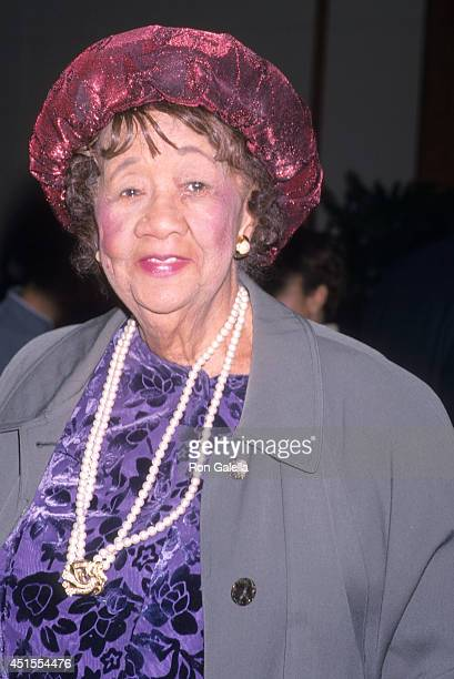 Civi rights activist Dorothy Hyatt attends the Hello Friend/Ennis William Cosby Foundation Benefit Gala on April 24 2001 at Pier 60 Chelsea Piers in...