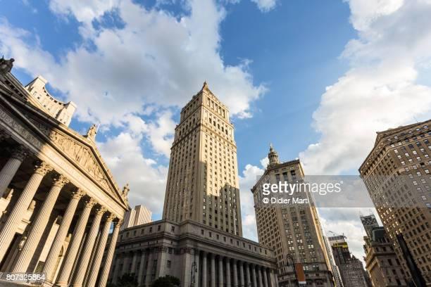 Civic Center in New York City, USA