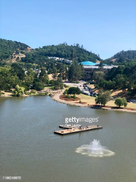 civic center view from a ferry's wheel - san rafael california stock pictures, royalty-free photos & images