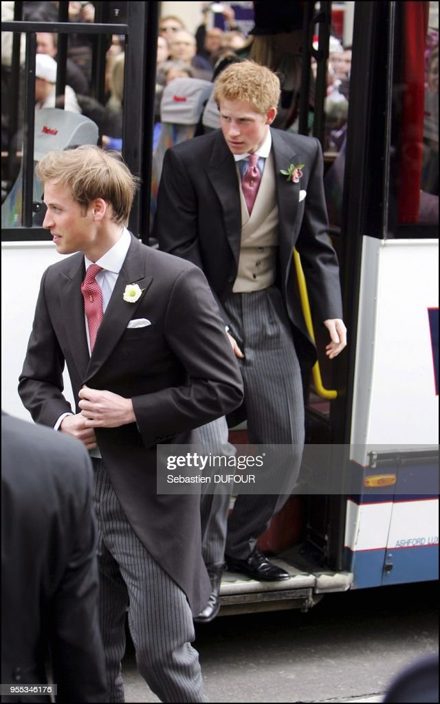 Wedding of HRH the Prince of Wales and Mrs Camilla Parker Bowles. : ニュース写真
