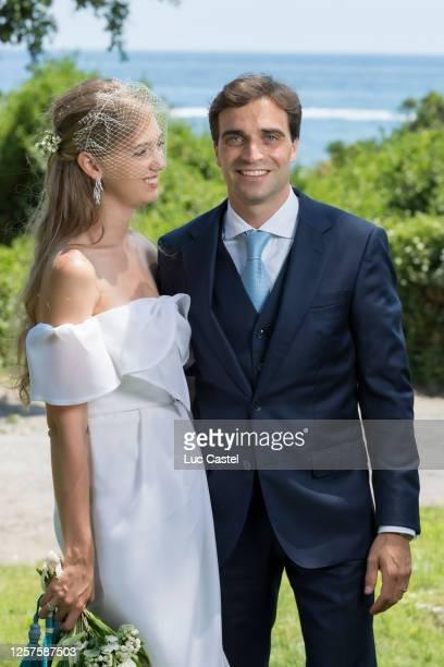 Civil Marriage of Eleonore of Habsburg and Jerome d'Ambrosio on July 20 2020 in Monaco Monaco Eleonore von Habsburg and Jerome d'Ambrosio have made a...