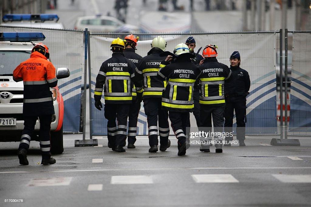 BELGIUM-ATTACKS : News Photo