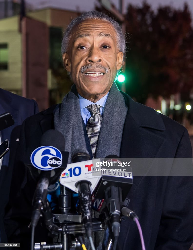 Al Sharpton visits Meek Mill at Chester State Correctional Institution