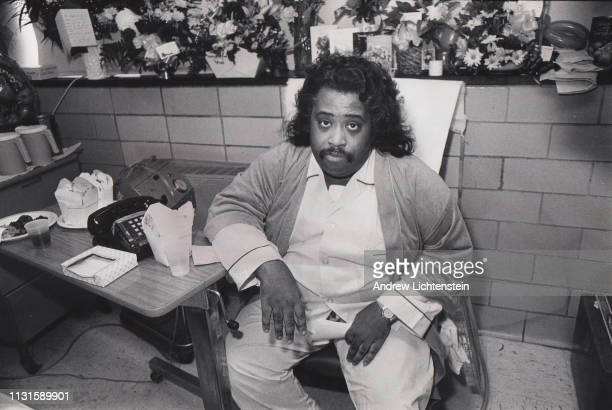 Civil rights activist Al Sharpton recovers from a stab wound he received from an assailant while organizing a protest in the Bensonhurst neighborhood...