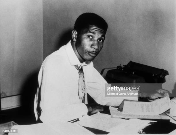 Civil Rights Activist and NAACP Field Secretary Medgar Evers poses for a portrait circa 1960 in Jackson Mississippi
