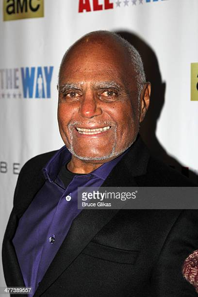 """Civil rights activist Bob Moses attends the opening night of """"All The Way"""" on Broadway at The Neil Simon Theatre on March 6, 2014 in New York City."""