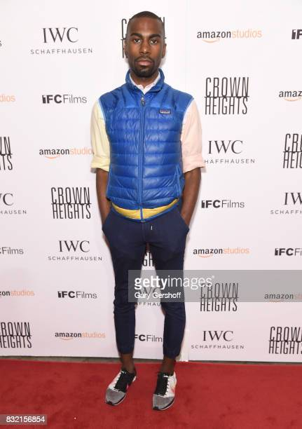 Civil rights activist DeRay Mckesson attends the Crown Heights New York premiere at The Metrograph on August 15 2017 in New York City