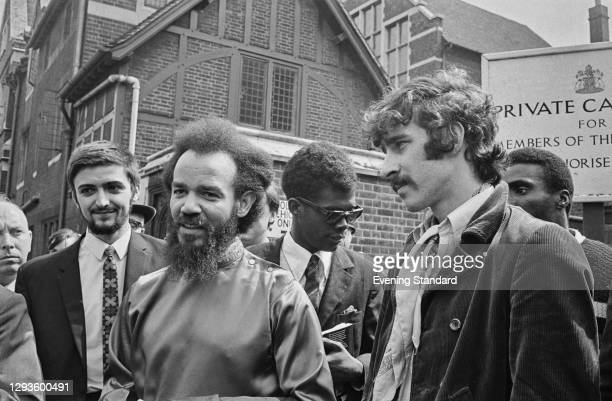 Civil rights activist Michael X and Karl Lloyd in Reading, UK, August 1967.