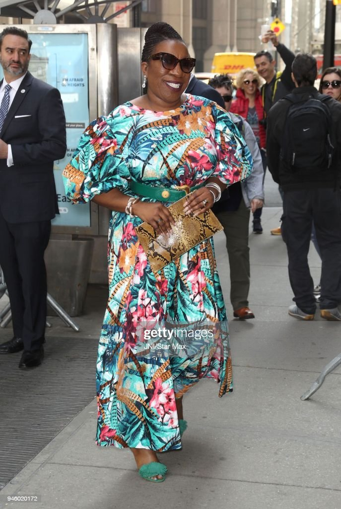 Celebrity Sightings in New York City - April 13, 2018