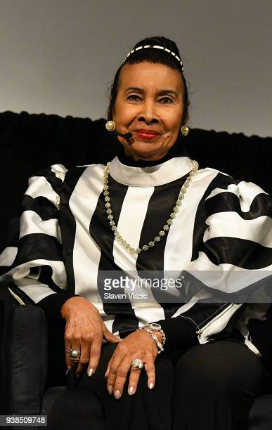 Civil Rights activist Xernona Clayton attends screening and panel discussion for HBO's 'King in the Wilderness' on March 26 2018 in New York City