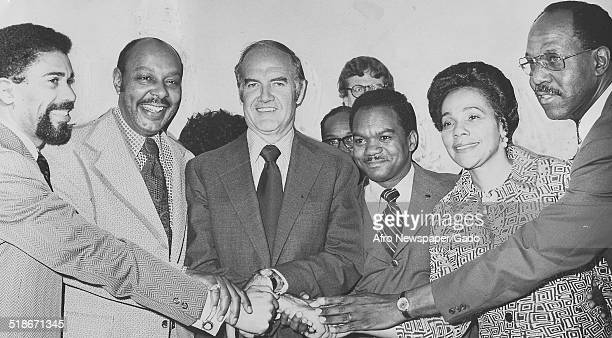 Civil Rights leader Coretta Scott King, politician and historian George McGovern, Henry Parker and former pastor of the New Bethel Baptist Church...