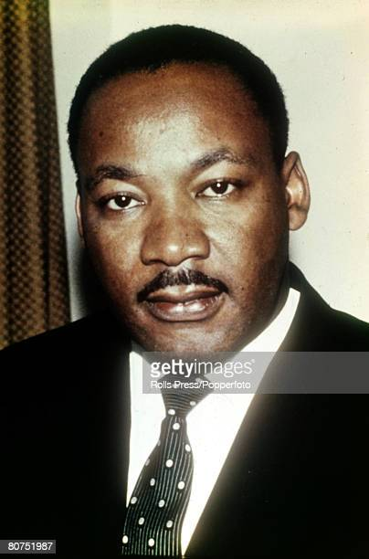 circa 1966 American Civil Rights leader Martin Luther King Martin Luther King clergyman civil rights leader and Nobel Peace Prize winner was killed...