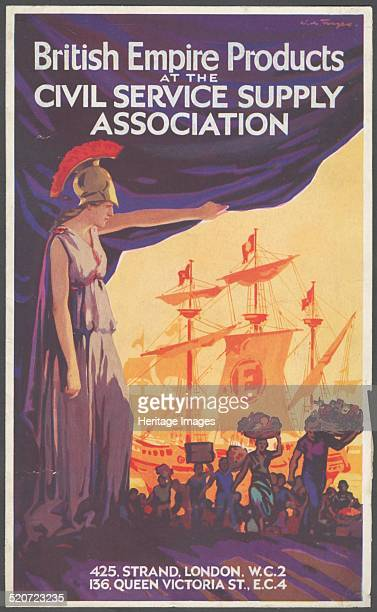 Civil Service Supply Association 1940s advertising British Empire Products