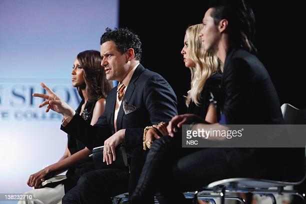 "Civil Union"" Episode 207 -- Pictured: Judges Iman, Isaac Mizrahi, Rachel Zoe, Johnny Weir"