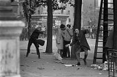Civil unrest on the streets of paris on may 27 1968 in paris france picture id909421016?s=170x170