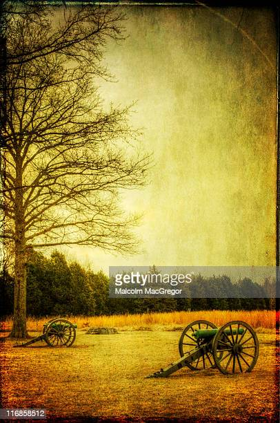 civil war canons - cannon stock pictures, royalty-free photos & images