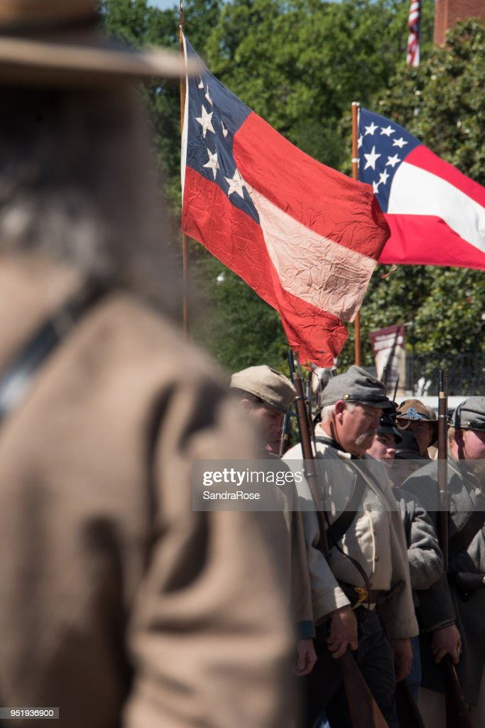Civil War Reenactment 42 : Stock Photo