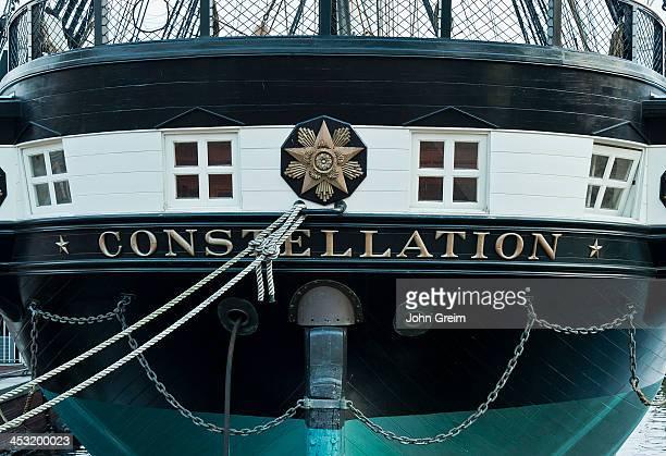 Civil War vessel USS Constellation Inner Harbor