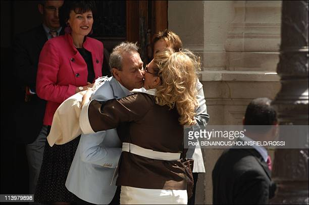 Civil wedding of Eva Longoria and Tony Parker In Paris France On July 06 2007Pamela Firestone arrives at the Paris IVth district City Hall prior here...