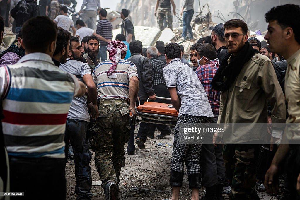 Syria - Civil War : News Photo