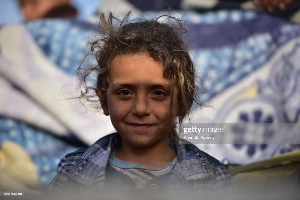 Civilians fleeing Raqqa arrive in Jarabulus : News Photo