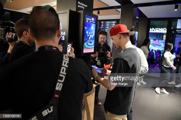 Cizzorz attends Twitch Rivals Streamer Bowl After Party at Verizon 5G Stadium at Super Bowl LIVE on January 30 2020 in Miami Florida