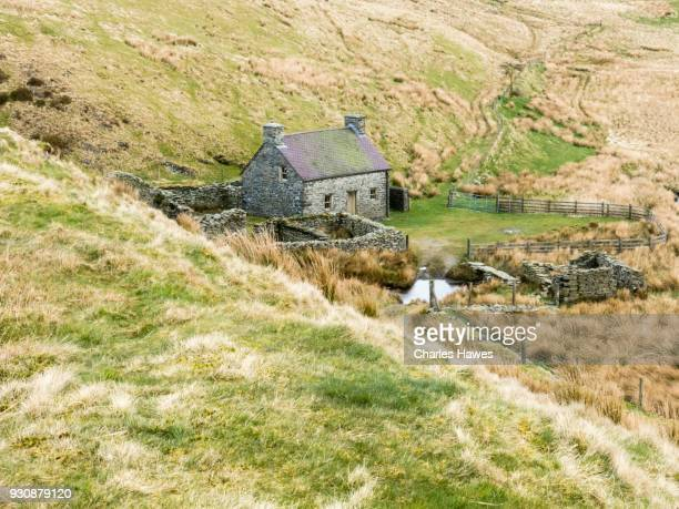 Claerddu bothy and hostel, Ceredigion. The Cambrian Way, Wales, UK