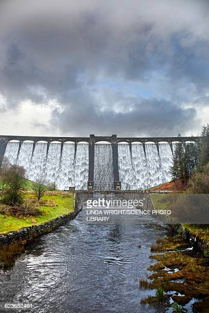Claerwen Reservoir Dam, Elan Valley