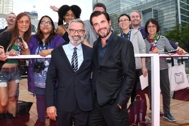 "CAN: 2019 Toronto International Film Festival - ""The Burnt Orange Heresy"" Premiere - Red Carpet"