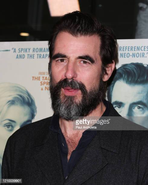 """Claes Bang attends the LA special screening of Sony's """"The Burnt Orange Heresy"""" at Linwood Dunn Theater on March 02, 2020 in Los Angeles, California."""