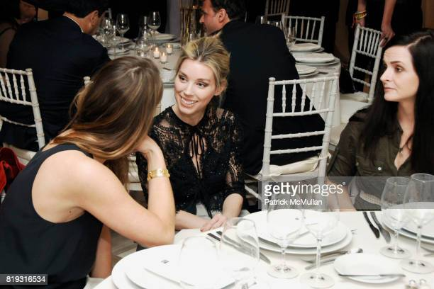Claiborne Swanson Frank Alexandra Lind Rose and Annie Churchill Albert attend SAKS FIFTH AVENUE VALENTINO Host a Dinner to benefit SAVE VENICE at...