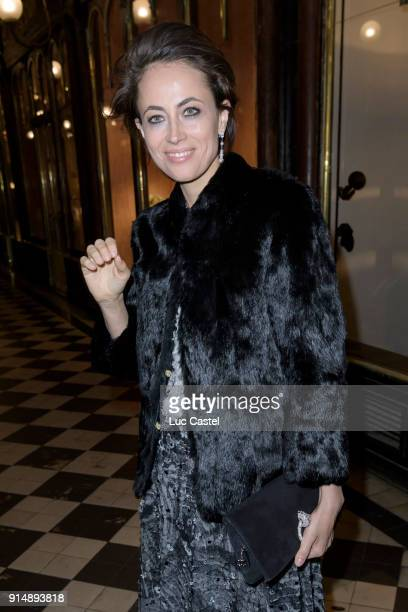 Claire Berest attends the presentation of the Cahier N°3 of the philosophical meetings of Monaco on January 25 2018 in Paris France