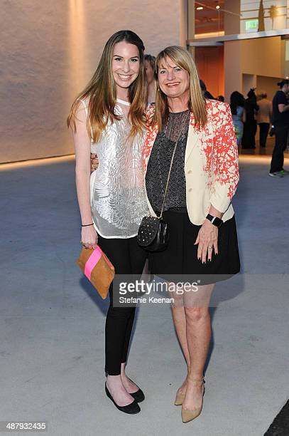 Claire Block and Marilyn Heston attend Kohn Gallery Grand Opening And Inaugural Exhibition Mark Ryden Gay Nineties West on May 2 2014 in Los Angeles...