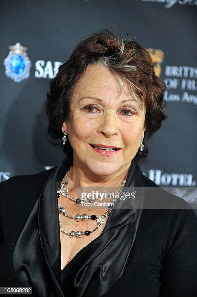 Claire Bloom arrives for the BAFTA Los Angeles 17th annual awards season tea party held at the Four seasons hotel on January 15 2011 in Los Angeles...