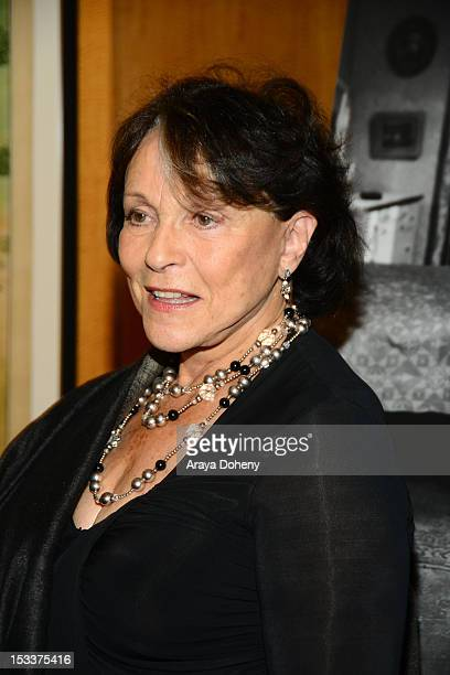 Claire Bloom attends the Academy of Motion Picture Arts and Sciences presentation of the 60th anniversary of Chaplin's 'Limelight' at AMPAS Samuel...