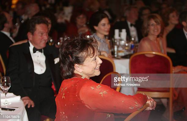Claire Bloom smiles during the 2nd Orange Filmball Vienna at the Townhall on March 18 2011 in Vienna Austria