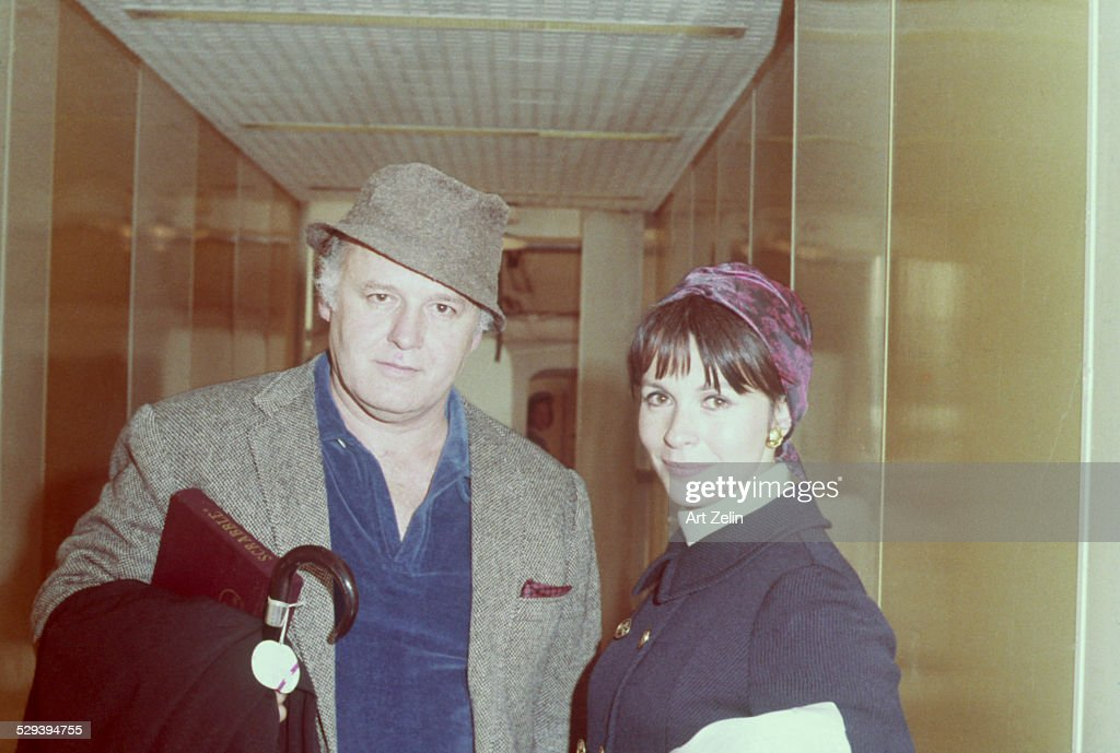 Claire Bloom and Rod Steiger : News Photo