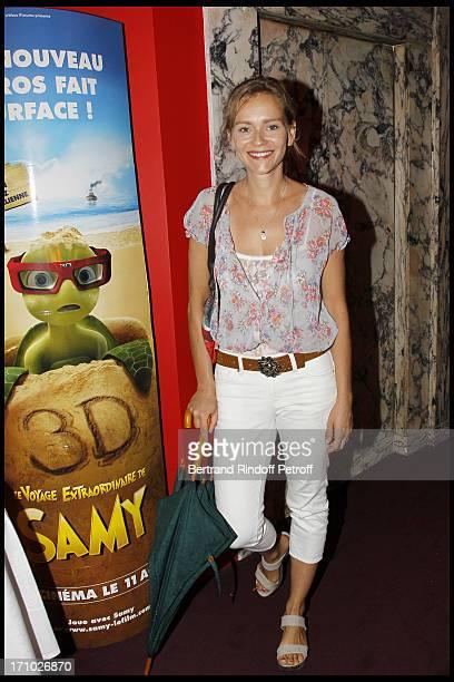 Claire Borotra at Premiere Of Film Le Voyage Extraordinaire De Samy At Cinema Gaumont Opera In Paris