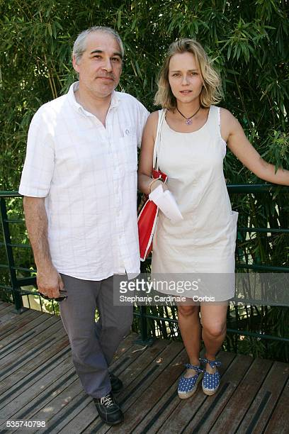 Claire Borotra with her husband