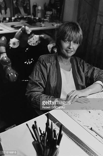 Claire Bretecher French Caricaturist In 1983