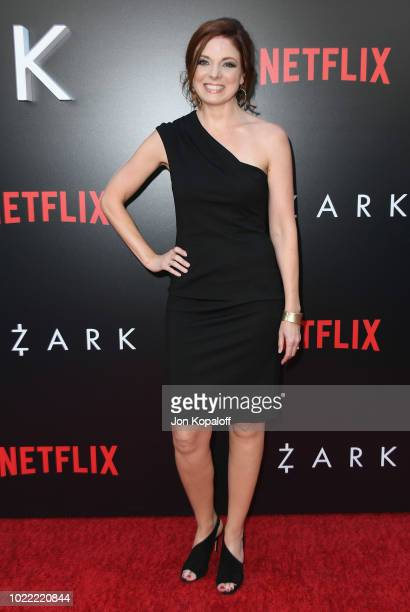 """Claire Bronson attends the premiere of Netflix's """"Ozark"""" Season 2 at ArcLight Cinemas on August 23, 2018 in Hollywood, California."""