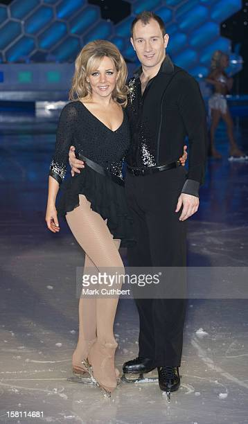 Claire Buckfield And Lukasz Rozycki At A Photocall For The Start Of The 2010 Tour Of Torvill And Dean'S Dancing On Ice At The Sheffield Arena In...